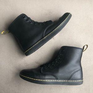 Dr. Martens shoreditch black combat boot (7)